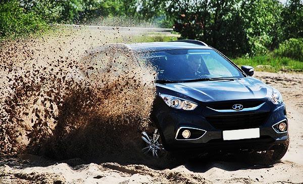 фото тест-драйва Hyundai ix35: где собирают Хендай ix35