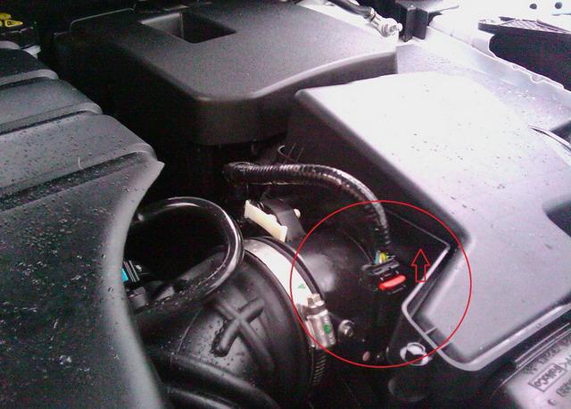 как снять аккумулятор с форд фокус №5